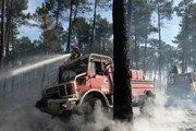 В Европе из-за лесных пожаров эвакуируют туристов