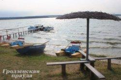 На Зельвенское водохранилище приезжают отдыхать белорусы, россияне и даже американцы
