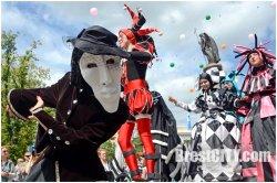 В Бресте прошел первый форум уличных театров