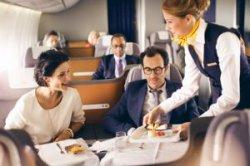 Lufthansa возносит ресторанный сервис на новые высоты