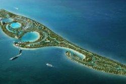 У берегов Китая построят остров для туристов