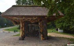 Фотофакт: самая красивая автобусная остановка Беларуси находится под Новогрудком