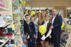 В Щучине ко Дню белорусской письменности открылся первый книжный магазин