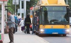 В Литве отклонили решение Брюсселя о двуязычных табличках для транспорта
