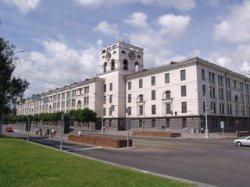 Вместо полиграфкомбината на площади Якуба Коласа появится пятизвездочная гостиница