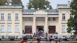 У Дзень беларускага пісьменства ў Шчучыне адкрыўся адноўлены палац князёў Друцкіх-Любецкіх