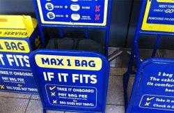В обычных авиакомпаниях доплата за багаж в три раза выше, чем в лоукостерах