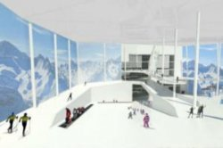 Норвегия начинает строительство самого большого крытого горнолыжного центра