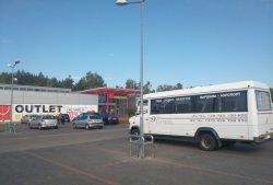 У суботу першы бясплатны аўтобус адвёз беларускіх шоп-турыстаў у Беласток на закупы