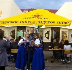 Октоберфест по-белорусски. В Лиде прошел первый в стране пивной фестиваль