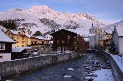 Новый подъемник в швейцарском Андерматте