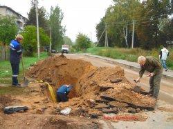 В Полоцке при прокладке газопровода снова открылись стены Борисоглебского монастыря