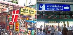 В Таиланде приостановлено действие «визы-ран» на границе с Камбоджей