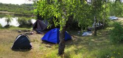 Завершана крымінальная справа аб наездзе аўтамабіля на турыстучную палатку