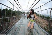 В Китае открыт самый страшный мост в мире