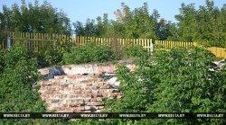 Уникальный памятник архитектуры ХVII-XVIII веков обнаружен на Замковой горе в Кричеве
