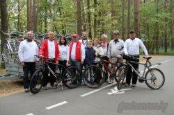 В Гродно торжественно открыли 5-километровую велодорожку, которую уже успели обкатать горожане