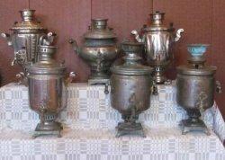 Выставка старинных самоваров открылась в Климовичском районном музее