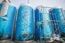 Фотофакт: территория Гродненского ликеро-водочного завода превращается в экскурсионный объект