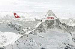 Авиакомпания Swiss запустит дополнительные рейсы на популярные горнолыжные курорты