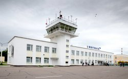 За последние 10 месяцев аэропортом «Витебск» обслужено более 140 рейсов, отправлено более трех тысяч пассажиров