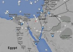 Крупнейшие европейские авиакомпании облетают опасную зону Синайского полуострова