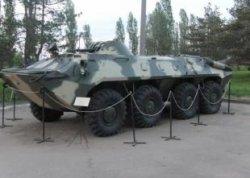 В Глубоком появится музейный экспонат БТР-60