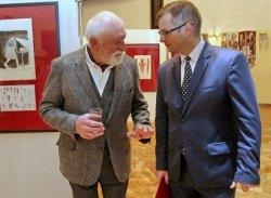 В Брестском театре открылась выставка польского художника Анджея Струмилло
