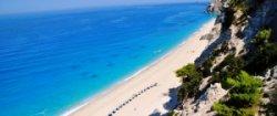 Один из лучших пляжей Греции уничтожен землетрясением