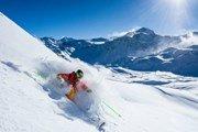 Франция: в регионе Тинь—Валь-д'Изер начался горнолыжный сезон