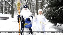 Дед Мороз в минском парке им.Горького начнет принимать гостей 23 декабря