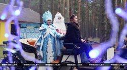 В Гродно презентовали усадьбу Деда Мороза