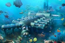 Американцы построят подводный передвижной отель