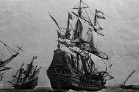 У берегов Колумбии нашли галеон с сокровищами на миллиарды долларов