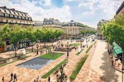 Площадь Опера в Париже станет пешеходной