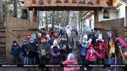 В агроусадьбе «Будзьма» под Гомелем открылась новогодняя деревня