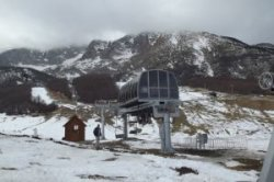 Черногория: на Жабляке снега для катания недостаточно