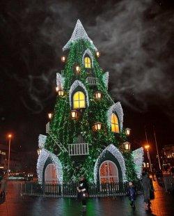 Новогодняя ночь в Вильнюсе, или Огни большого города