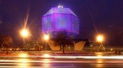 Самый большой каток под открытым небом в Минске заработает 7 января у Национальной библиотеки