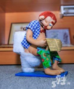 В Гродненском музее можно видеть уникальную выставку кукол ручной работы