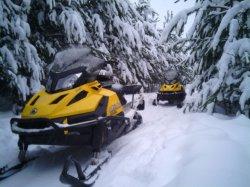 С 17 января в «Силичах» можно покататься на снегоходах