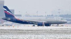«Аэрофлот» отменил рейс в Минск из-за сложных погодных условий
