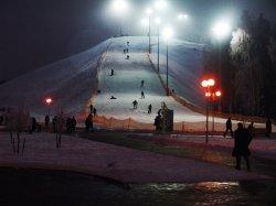 В «Силичах» вновь проходят ночные катания