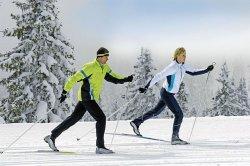 Где в Минске покататься на беговых лыжах?