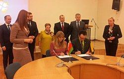 Министерство спорта и туризма Беларуси и Министерство хозяйства Литвы подписали программу сотрудничества в области туризма
