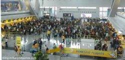 В аэропорту Манилы, недавно исключенному из списка худших в мире, обвалился потолок