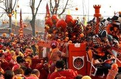 «Битва апельсинов» пройдет в окрестностях Турина