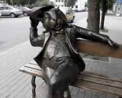 Знаменитый памятник бобру в Бобруйске покинул свое привычное место