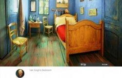 Пожить в комнате, как на картине Ван Гога, можно за 10 долларов