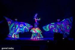Фоторепортаж: В Гомеле состоялся международный фестиваль света Gomel Light Fest